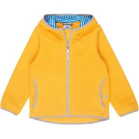 Finkid Paukku Jacket Kinder yellow/storm